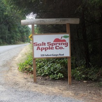 B&B @ Salt Spring Apple Company