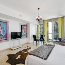 Posh Studio In Brickell By Sonder