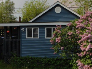 The Little Blue House Sioux Lookout