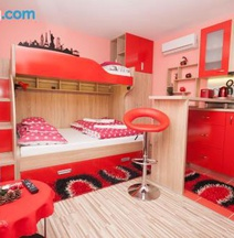 Design Apartments Red Blue