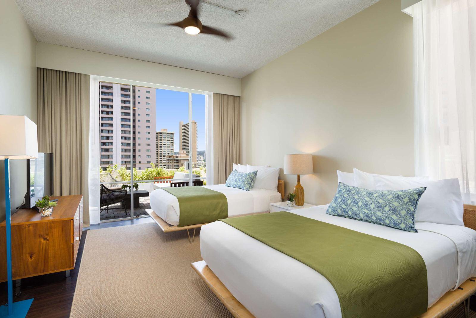 阿奎歐西雅威基基開放式公寓套房飯店