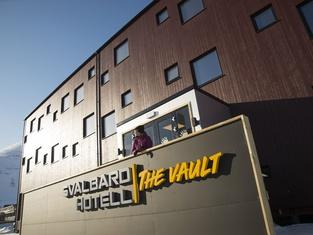 Svalbard Hotell | The Vault
