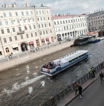 City of Rivers Near Palace Square