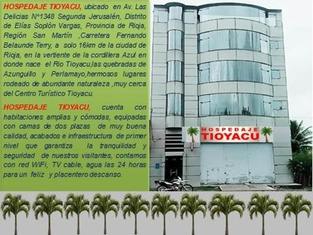 Hospedaje Tioyacu H&C