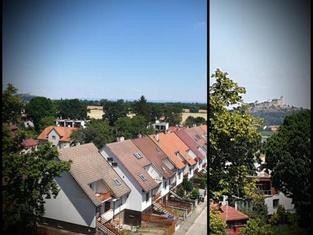 Byt 3+1 u Centra (výhled do Krajiny z 6. patra)