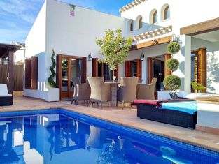 Villa With 5 Bedrooms in Murcia With Wonderful Mountain View Private Pool Enclosed Garden