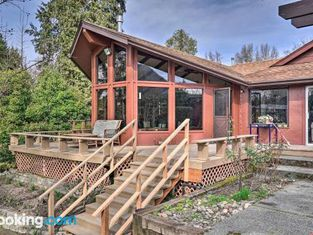 Serene Riverfront Escape With Hot Tub and Views!
